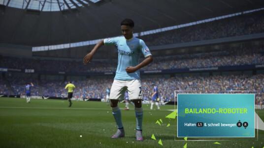 In FIFA 16 spielt die Musik.