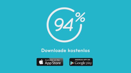 94 % App