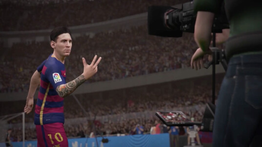 Angezählt? Noch lange nicht. Messi hat die höchste Spielerbewertung in FIFA 16.