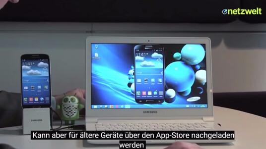 SideSync von Samsung: kurz vorgestellt.