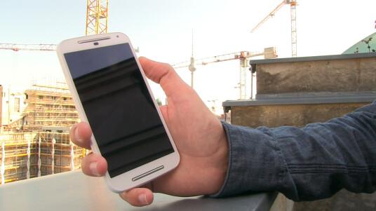Das neue Moto G im Hands-on. Erste Eindrücke und Bilder des neuen Motorola-Smartphones vom Messegelände der IFA 2014.