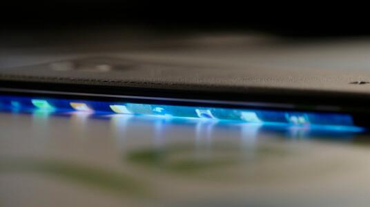 Der Seitenbildschirm des Samsung Galaxy Note Edge im Detail - Videothumb