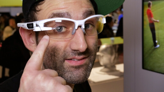 Sony SmartEyeglass Attach im Hands-on - Videothumb