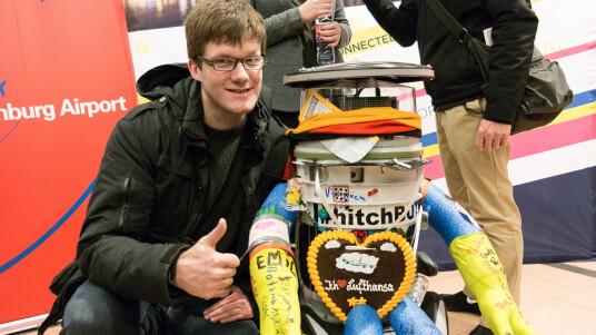 hitchBOT: Ein Roboter in Deutschland