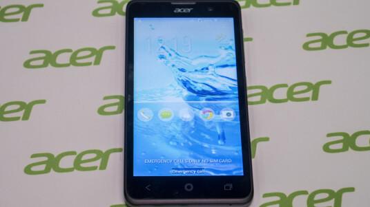 Mit dem Liquid Z520 präsentiert Acer auf dem MWC ein günstiges 5-Zoll-Smartphone. Einen ersten Eindruck vom Moto G-Konkurrenten vermittelt unser Kurztest aus Barcelona.