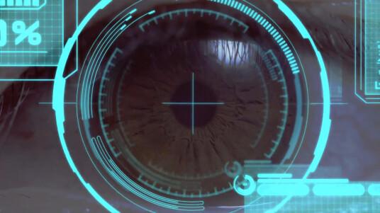 MWC: Fujitsu Iris Scanner