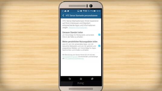 HTC trägt in Sense 7.0 seine Nutzer um ihnen passende Apps abhängig von Standort und Nutzerverhalten anzuzeigen. Wollt ihr dies nicht, könnt ihr die Funktion abschalten. Wir zeigen euch wie.