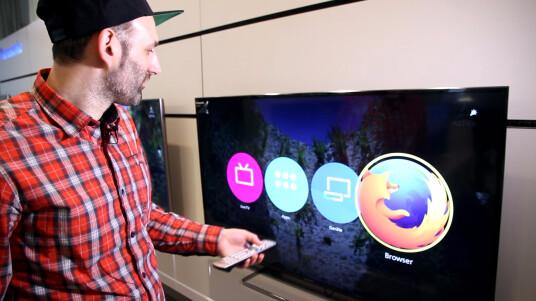 Wir zeigen euch, wie sich Firefox OS auf dem Panasonic-Smart-TV macht und stellen euch die Bedienung des neuen Betriebssystems fürs Fernsehen vor.