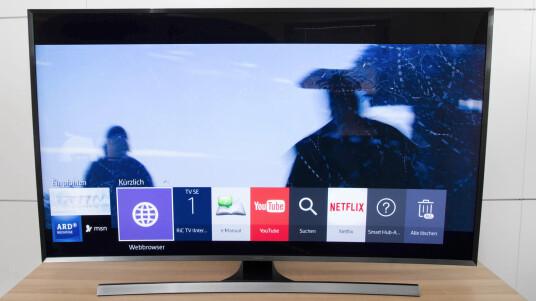 Im Test: Samsung TV UE55JU7590