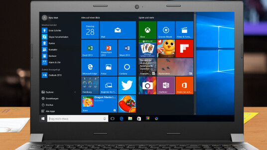 Windows 10: Finale Build auf dem Aldi Akoya E6416