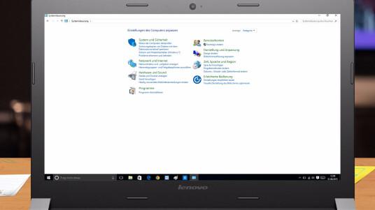Windows 10: Alte Systemsteuerung öffnen