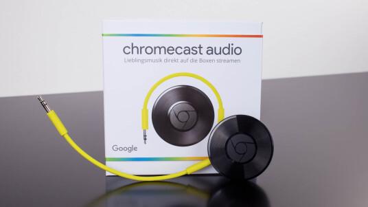 Chromecast Audio erledigt für Lautprecher und Stereo-Analgen das, was Chromecast für Fernseher erledigt: Streaming von Internetinhalten.