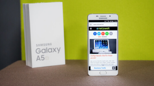 Samsung Galaxy A5 (2016) im Test