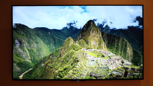 Display: Speziell bei hochauflösenden Bildern / Videos zeigt der X90C was in ihm steckt.