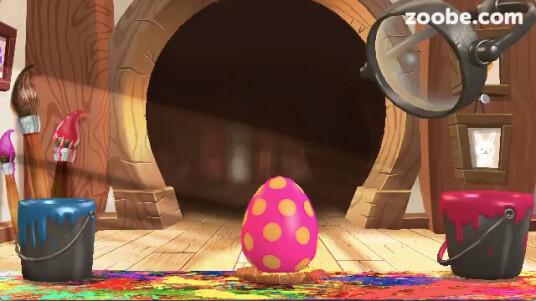 Dieses Ostervideo wurde mit der kostenlosen iPhone-App