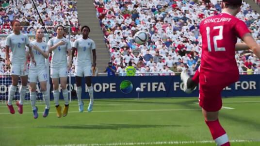 Electronic Arts (EA) kündigt mit dem obigen Trailer zur Fußball-Simulation FIFA 16 an, erstmals Frauennationalmannschaften ins Spiel aufzunehmen. Im Video sehen wir einige der Fußball-Damen, die per Motion-Capturing in FIFA 16 integriert werden. EA hält sich mit Informationen zum Spiel bisher bedeckt, lediglich der Release-Termin wird im Trailer bekanntgegeben. FIFA 16 wird demnach am 24. September 2015 für PC, PS4 und Xbox One.