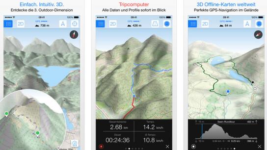 Maps Entfernungsmesser Iphone : Wandern per gps: die 6 besten wander apps fürs routing im test