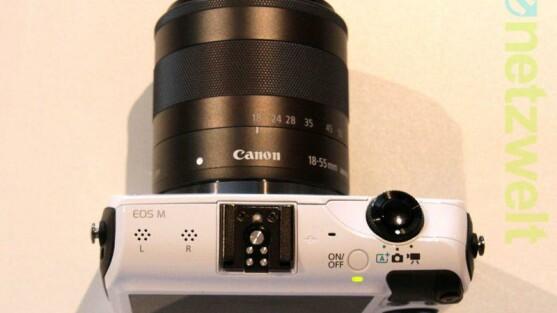 canon eos m3 kommt 2015 eine vollformat systemkamera netzwelt. Black Bedroom Furniture Sets. Home Design Ideas