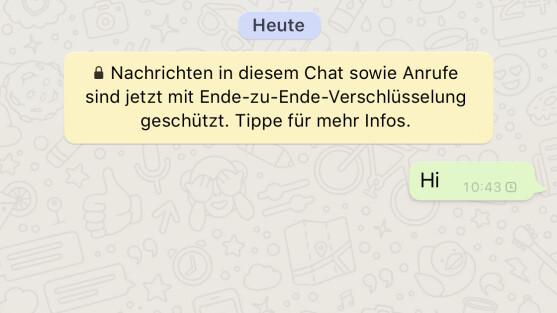 Was bedeutet 2 blaue haken bei whatsapp