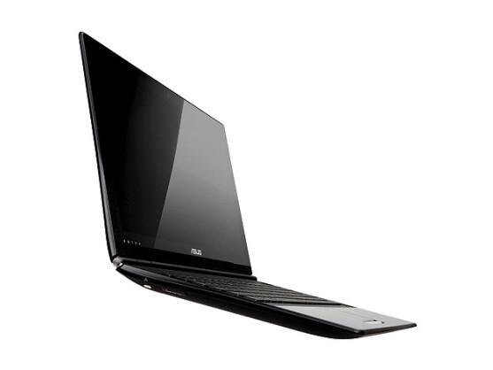 Asus UX30: Das einzige Notebook der Serie, das ohne optisches Laufwerk auskommt.
