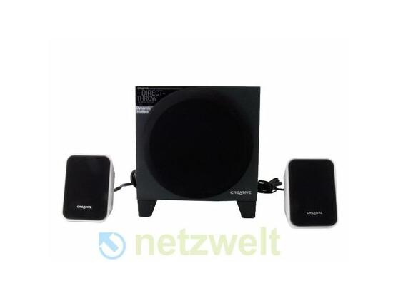 """Zum Preis von 120 Euro steht das 2.1-Lautsprecherset """"Inspire S2 Wireless"""" von Creative in den Regalen."""