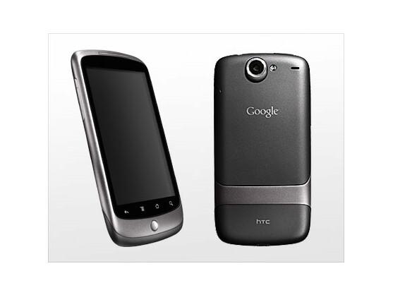 Nexus One: Das Smartphone arbeitet mit einem Snapdragon-Prozessor und bietet eine Fünf-Megapixel-Kamera.
