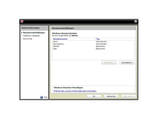 software test mcafee internet security 2010 netzwelt. Black Bedroom Furniture Sets. Home Design Ideas