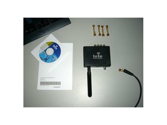 Im Lieferumfang sind sämtliche zur Installation notwendige Komponenten enthalten, inklusive einer Software-CD.