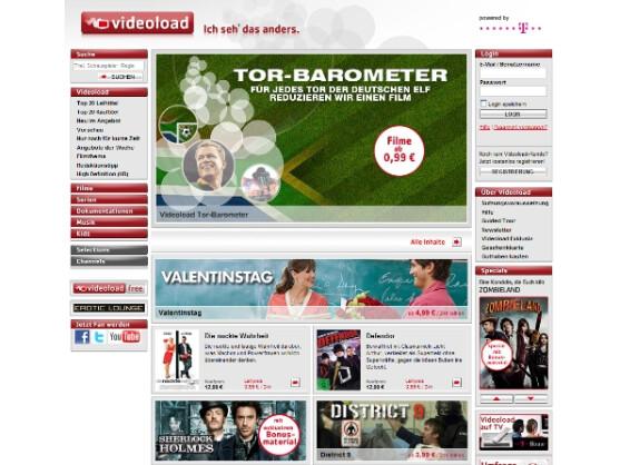 3.500 Filme, Serien und Dokus im Angebot: Videoload