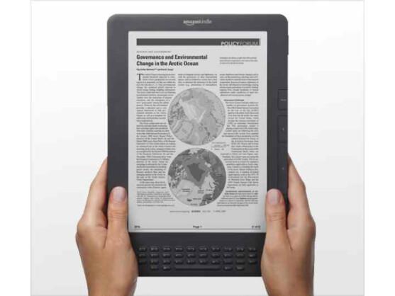 Amazon hat den Preis für den E-Reader Kindle DX gesenkt. Bild: Amazon