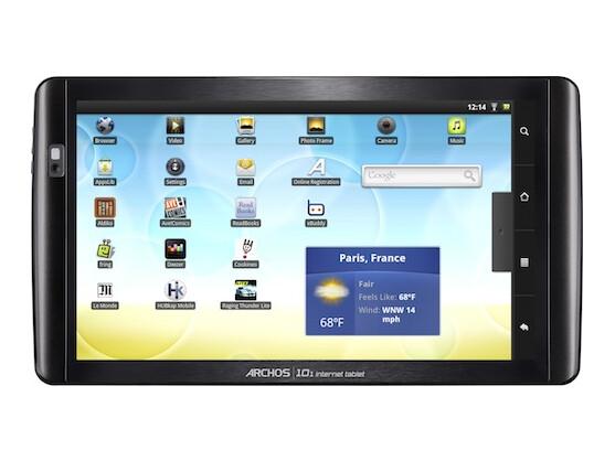 Archos 101: Zehn-Zoll-Diagonale, Android 2.2, Webcam: Das Flaggschiff der Serie kostet mindestens 299 Euro