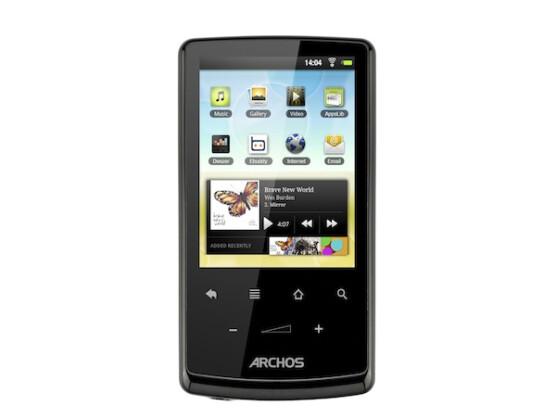 Archos 28: Für unter 100 Euro erhält der Kunde einen internetfähigen MP3/MP4-Player mit Android 2.2 und WLAN-Anbindung