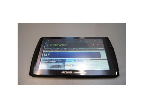 Angenehmer Sofa-Surfer zu einem erschwinglichen Preis: Archos 7 Home Tablet