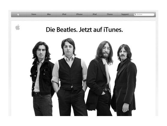 Die Beatles gibt es nun bei iTunes.