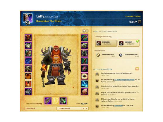 Charakter bei World of Warcraft: Blizzard hat seine Klarnamenpflicht für Internet-Foren zurückgezogen