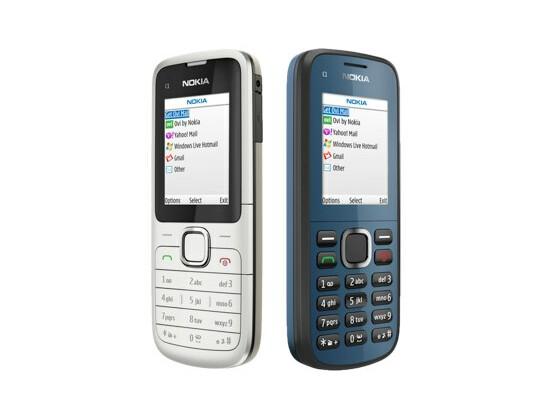 Die Einsteiger-Handys Nokia C1-01 und C1-02 werden gegen Ende des Jahres für 45 und 40 Euro in Deutschland erhältlich sein.