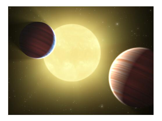 Forscher der NASA haben mit Kepler-9 ein neues Planetensystem entdeckt. Es könnte auch einen erdähnlichen Himmelskörper beinhalten.