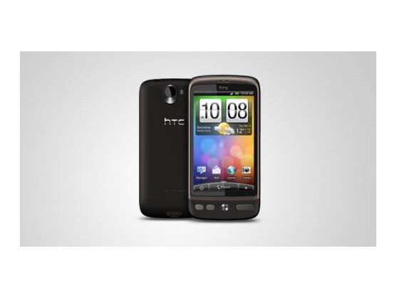 Das HTC Desire läuft nun auch auf Android 2.2 Basis.