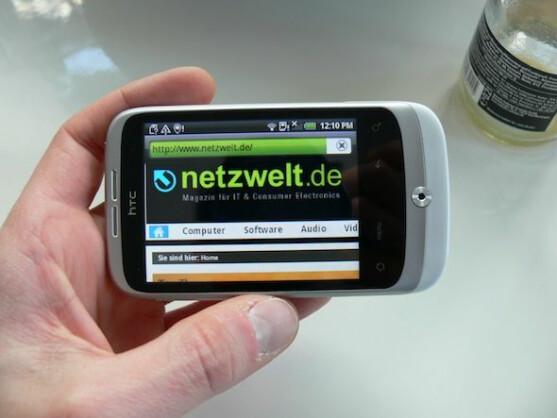 HTC Wildfire: Besitzer dieses Smartphones können sich über ein Froyo-Update freuen.