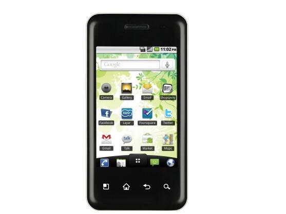 Das LG Optimus Chic bietet zusätzliche Multimedia-Funktion.