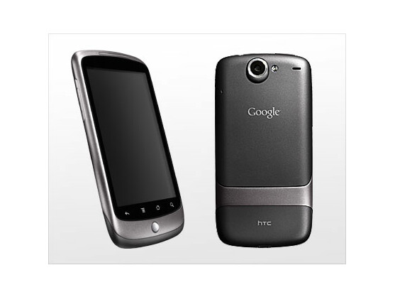 Nexus One: Das erste Handy des Internetriesen Google mit dem eigenen Betriebssystem Android.