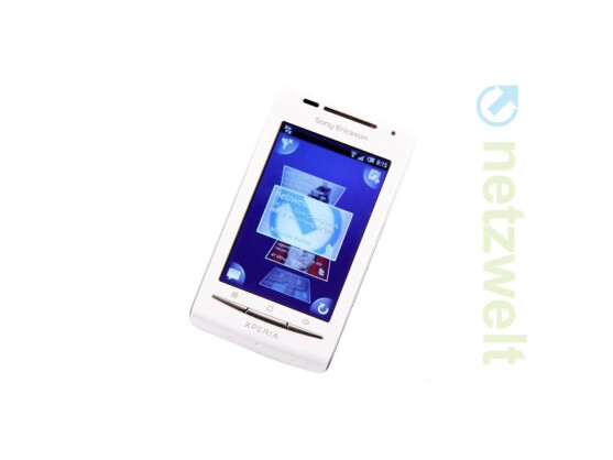 Das Sony Ericsson Xperia X8 verfügt nun über Android 2.1.