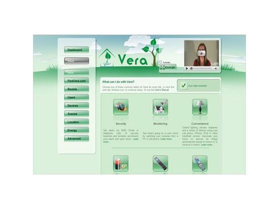 Die Einrichtungsoberfläche von MiCasaVerde Vera: Hausautomatisierung leicht gemacht.
