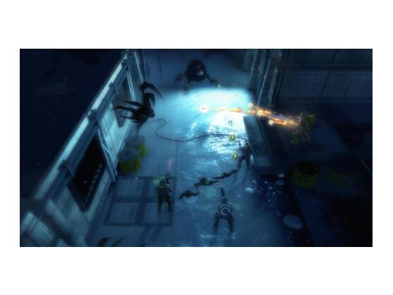Bis zu vier Spieler können bei Alien Swarm im Team gegen wildgewordene Aliens kämpfen.