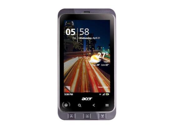 Voll und ganz auf Multimedia geeicht: Acer Stream