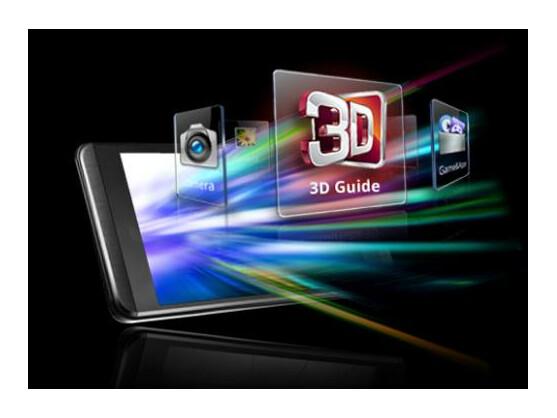 Die 3D-Erfahrung soll mit dem Update für das Optimus 3D verbessert werden.