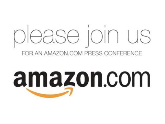 Amazon lädt für den 28. September zu einer Pressekonferenz ein.