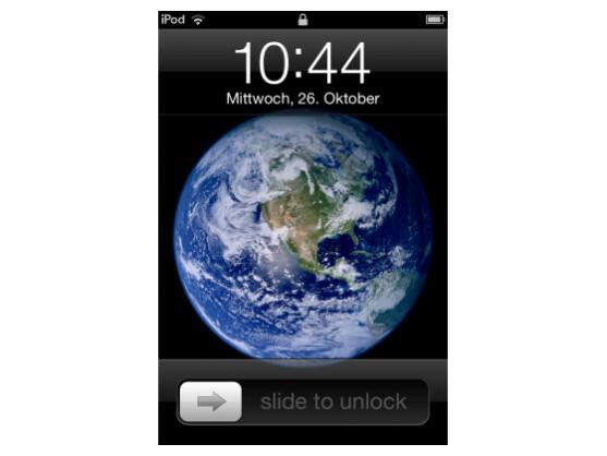 Apple wurde das Patent für die Slide to Unlock-Geste zugesprochen.
