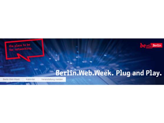 Die beiden Digitalkonferenzen re:publica und Next finden 2012 im Rahmen der Berlin Web Week statt.