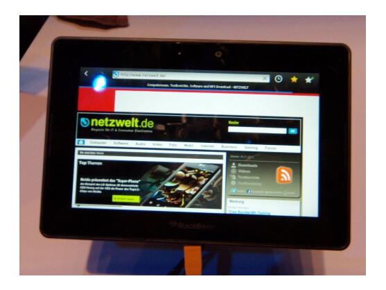 Das Blackberry Playbook erscheint am 14. Juni in Deutschland.